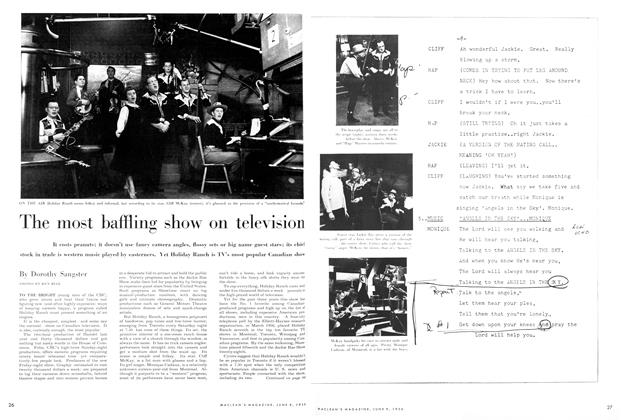 Article Preview: The most baffling show on television, June 1956 | Maclean's