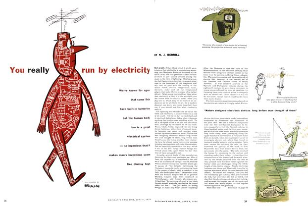 Article Preview: You really run by electricity, June 1956 | Maclean's
