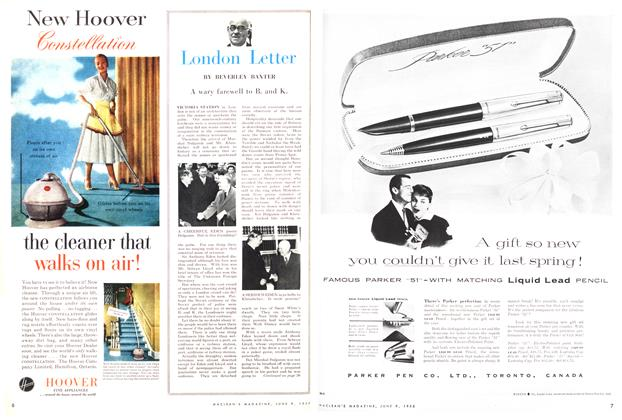 Article Preview: London Letter, June 1956 | Maclean's