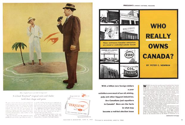 Article Preview: WHO REALLY OWNS CANADA, June 1956 | Maclean's