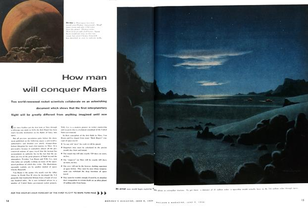 Article Preview: The flight to Mars: step by step, June 1956 | Maclean's