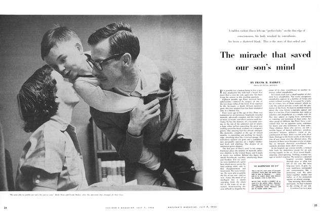 Article Preview: The miracle that saved our son's miiid, July 1956 | Maclean's