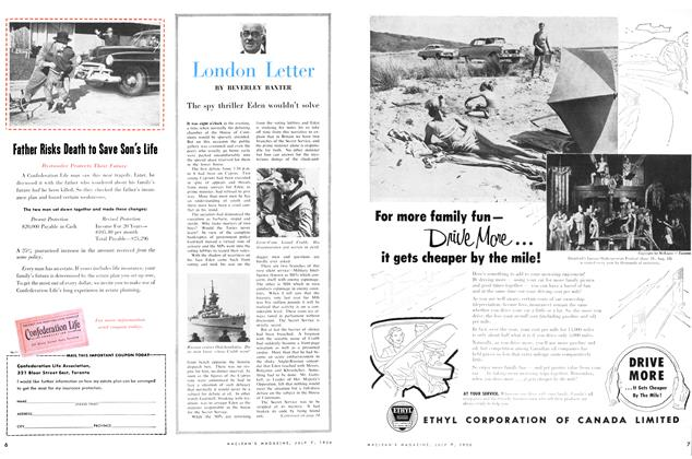 Article Preview: London Letter, July 1956 | Maclean's