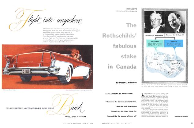 Article Preview: The Rothschilds' fabulous stake in canada, July 1956 | Maclean's