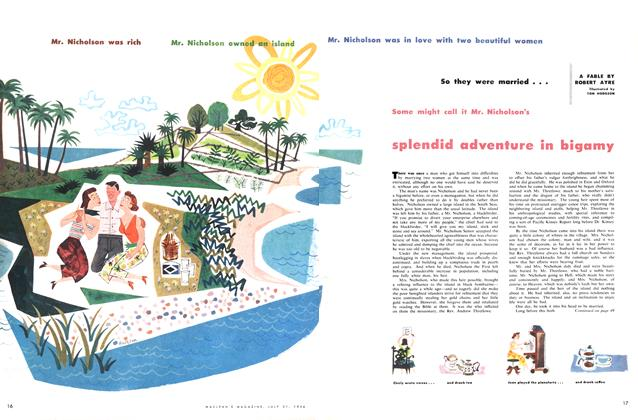 Article Preview: splendid adventure in bigamy, July 1956 | Maclean's