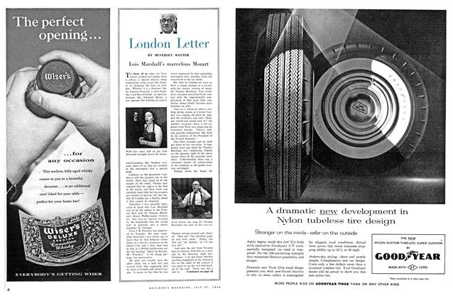 Article Preview: Lois Marshall's marvelous Mozart, July 1956 | Maclean's