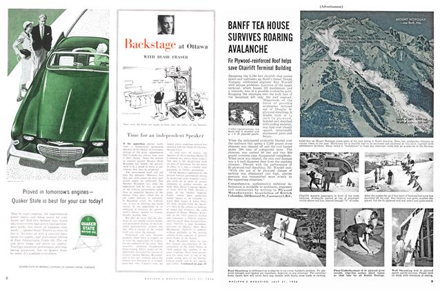 Article Preview: Time for an independent Speaker, July 1956 | Maclean's