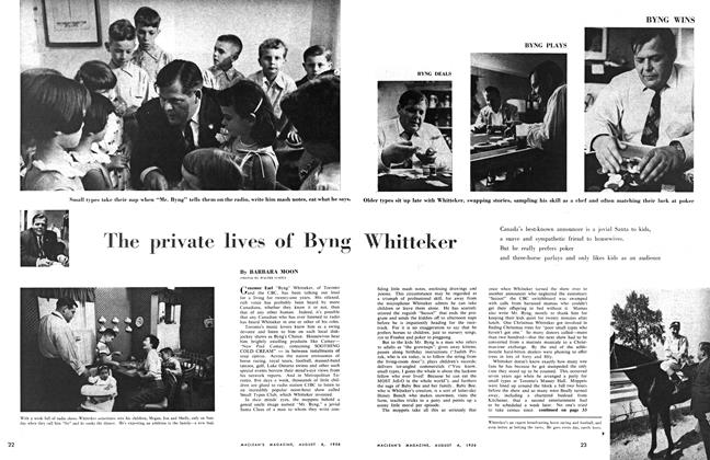 Article Preview: The Private lives of Byng Whitteker, August 1956 | Maclean's