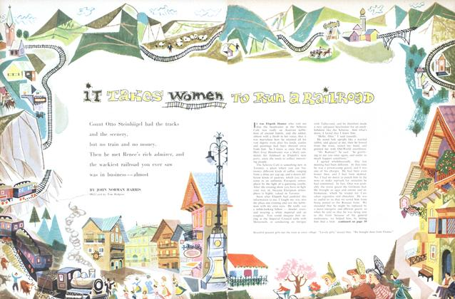Article Preview: It Takes Women To Run a Railroad, August 1956 | Maclean's