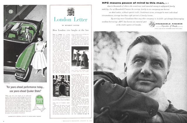 Article Preview: London Letter, August 1956 | Maclean's