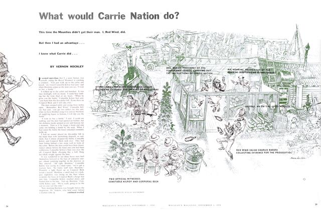 Article Preview: What would Carrie Nation do?, September 1956 | Maclean's