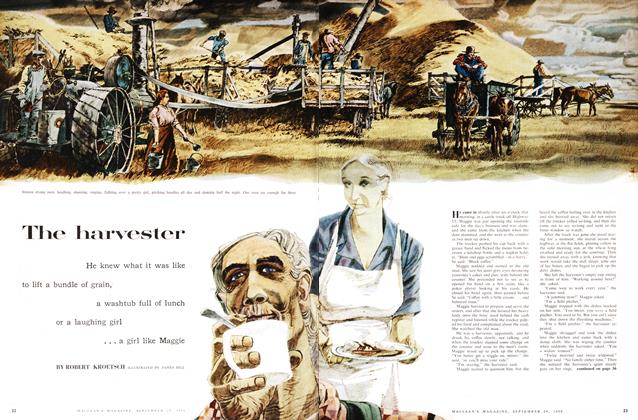 Article Preview: The harvester, September 1956 | Maclean's