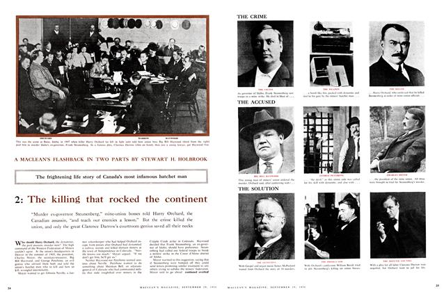 Article Preview: 2: The killing that rocked the continent A MACLEAN'S FLASHBACK IN TWO PARTS, September 1956 | Maclean's