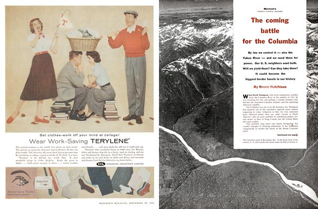 Article Preview: The coming battle for the Columbia, September 1956 | Maclean's