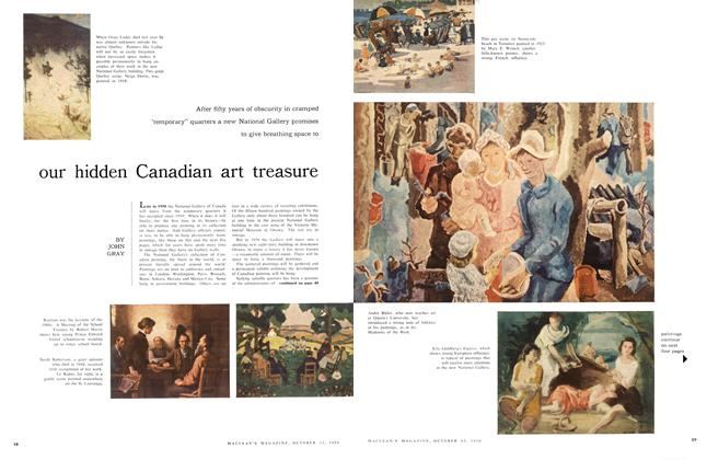 Article Preview: our hidden Canadian art treasure, October 1956 | Maclean's