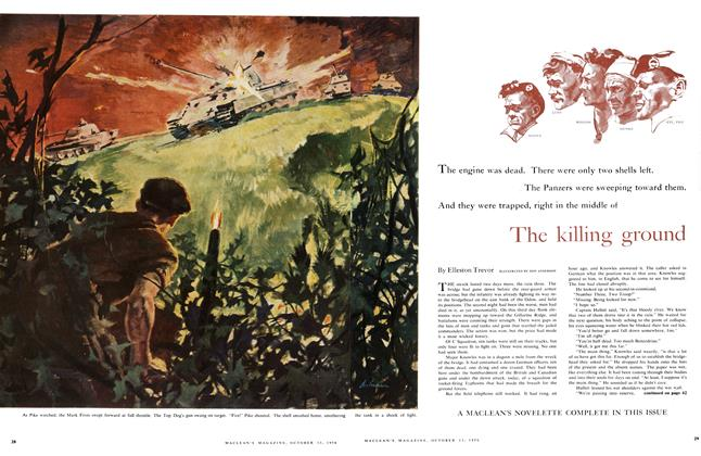 Article Preview: The killing ground, October 1956 | Maclean's