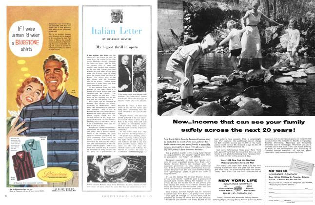 Article Preview: Italian Letter, October 1956 | Maclean's