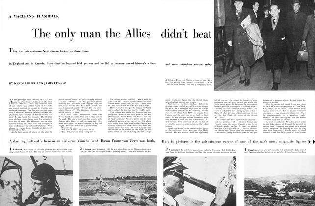 Article Preview: The only man the Allies didn't beat, October 1956 | Maclean's