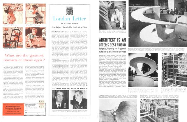 Article Preview: London Letter, October 1956 | Maclean's
