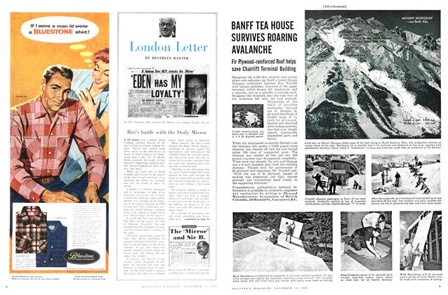 Article Preview: London Letter, November 1956 | Maclean's