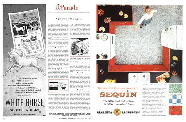 Article Preview: Parade, November 1956 | Maclean's