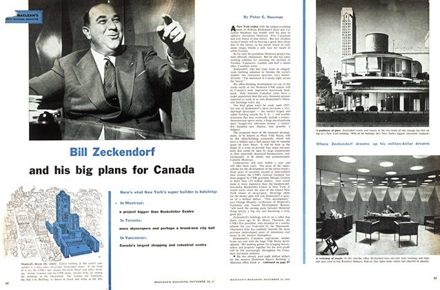 Article Preview: Bill Zeckendorf, November 1956 | Maclean's