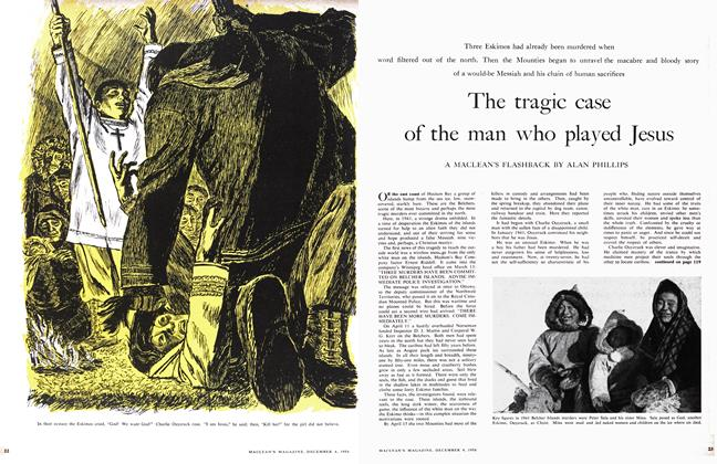 Article Preview: The tragic case of the man who played Jesus, December 1956 | Maclean's