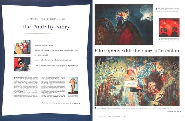 Article Preview: A MOVING NEW PORTRAYAL OF the Nativity story, December 1956 | Maclean's