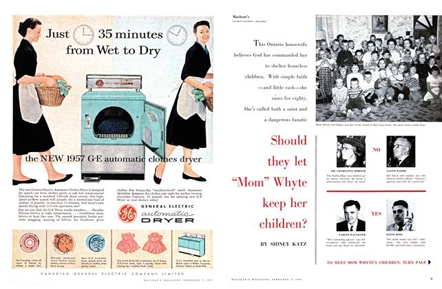 "Article Preview: Should they let ""Mom"" Whyte keep her children?, February 1957 