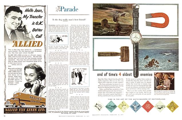 Article Preview: Parade, February 1957 | Maclean's