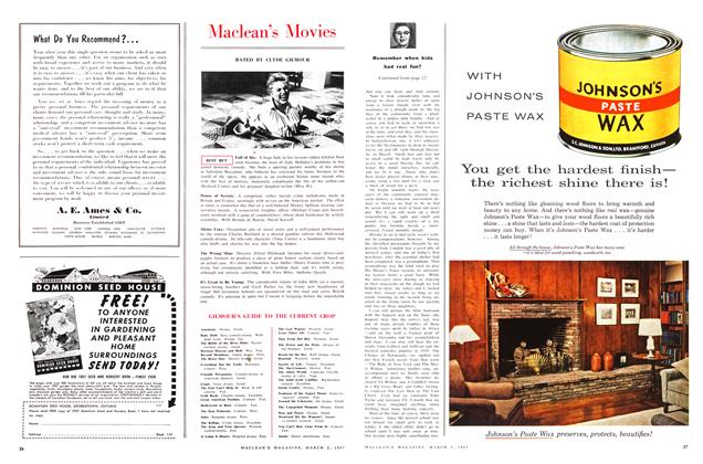 Article Preview: Maclean's Movies, March 1957 | Maclean's