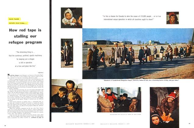 Article Preview: How red tape is stalling our refugee program, March 1957 | Maclean's