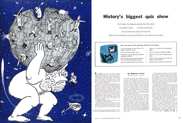Article Preview: History's biggest quiz show, March 1957 | Maclean's