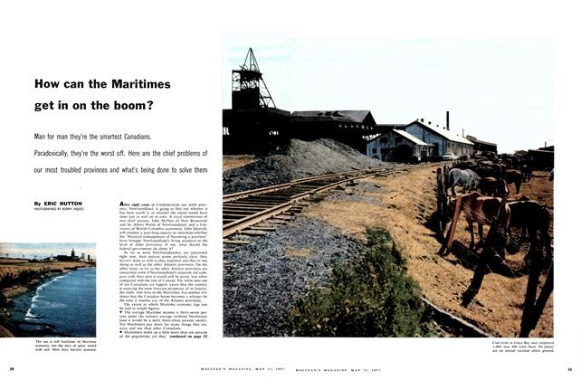 Article Preview: How can the Maritimes get in on the boom?, May 1957 | Maclean's