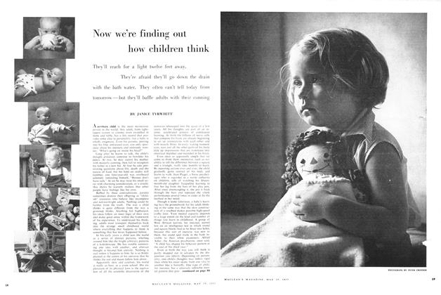 Article Preview: Now we're finding out how children think, May 1957 | Maclean's