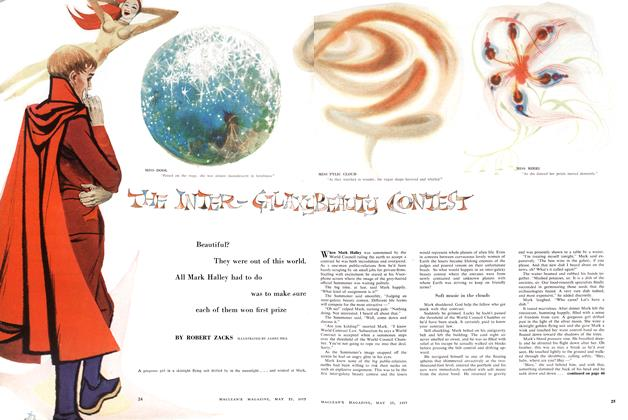 Article Preview: THE INTER—GALAXY BEAUTY CONTEST, May 1957 | Maclean's