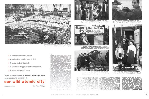 Article Preview: our wild atomic city, May 1957 | Maclean's