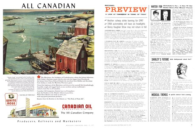 Article Preview: SHIRLEY'S FUTURE, May 1957 | Maclean's