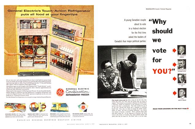 "Article Preview: ""Why should we vote for YOU?"", June 1957 