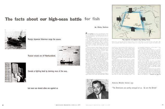Article Preview: The facts about our high-seas battle for fish, June 1957 | Maclean's