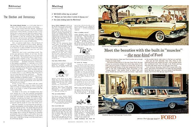 Article Preview: Mailbag, June 1957 | Maclean's