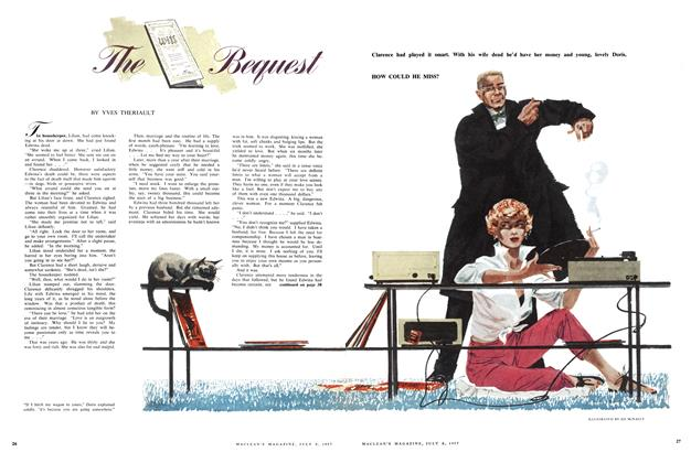 Article Preview: The Bequest, July 1957 | Maclean's