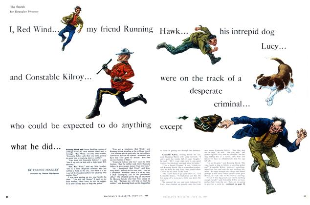 Article Preview: The Search for Strangler Sweeney, July 1957 | Maclean's