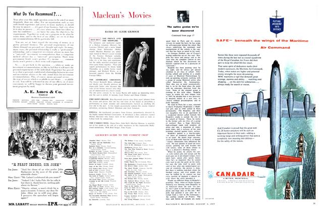 Article Preview: Maclean's Movies, August 1957 | Maclean's