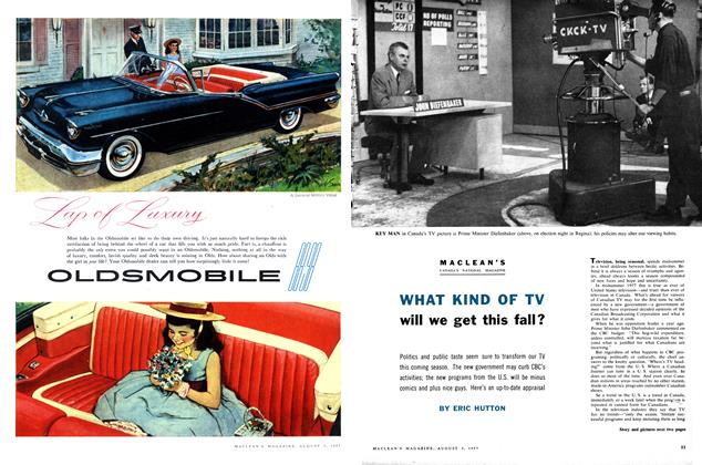 Article Preview: WHAT KIND OF TV will we get this fall?, August 1957 | Maclean's