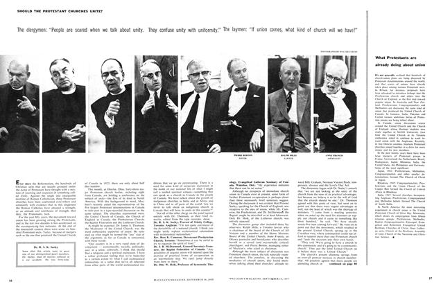 Article Preview: What Protestants are already doing about union, September 1957 | Maclean's