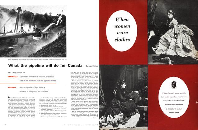 Article Preview: What the pipeline will do for Canada, September 1957 | Maclean's