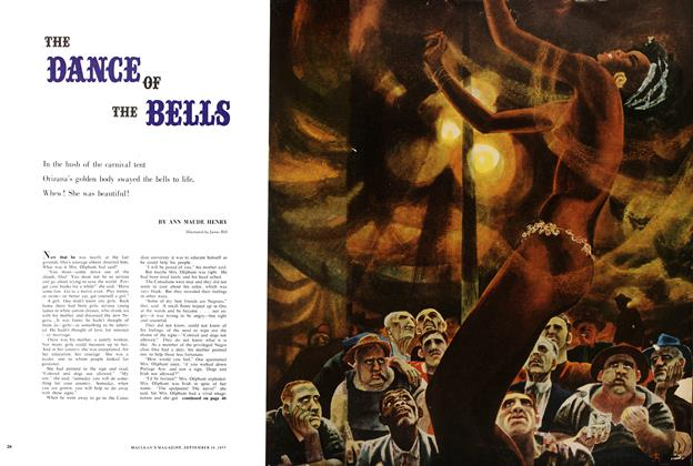 Article Preview: THE DANCE OF THE BELLS, September 1957 | Maclean's