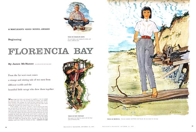 Article Preview: FLORENCIA BAY, October 1957 | Maclean's