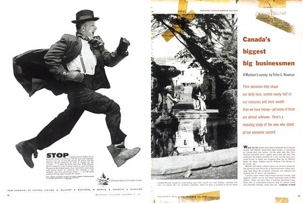 Article Preview: Canada's biggest big businessmen, October 1957   Maclean's